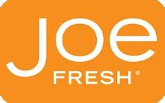Joe Fresh Gift Card - check joe fresh gift card balance online giftcardbalancechecks com
