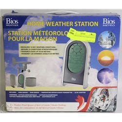new bios home weather station kastner auctions