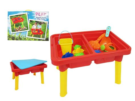 sand and water table with lid sand and water play table with accessories and lid small