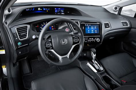 Civic Interior by 2014 Honda Civic Ex L Test Motor Trend