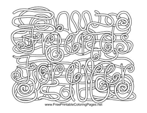 coloring pages with hidden words friends hidden word coloring page
