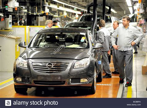Opel Productions by Production Line Of Opel Stock Photos Production Line Of