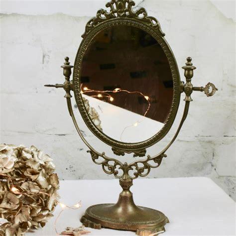 Charmant Miroir A Poser Sur Table #7: Ancien-miroir-psyche-sur-pied-en-bronze.jpg
