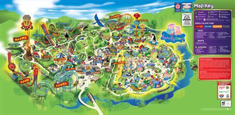 paultons park paultons park 2014 park map paultons park 2014 park map