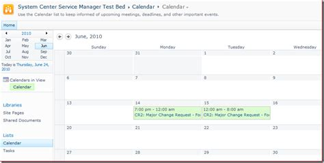 Was The Calendar Changed Change Calendar Publishing Work Item To Part 1