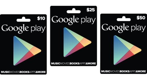 Prepaid Google Play Gift Card - cadeaukaarten voor google play store beschikbaar in verenigde staten