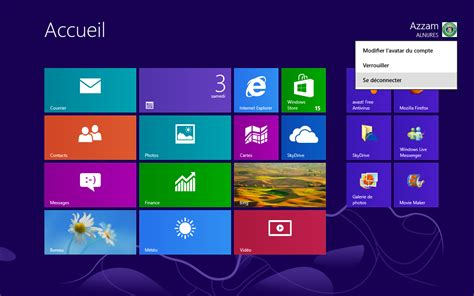 windows 8 d駑arrer sur bureau image de bureau windows 8 image de