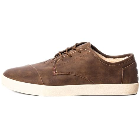 in shoes toms paseos mens casual shoes in brown