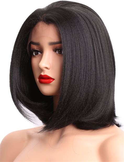 With Wig On by Popular American Bob Wigs Buy Cheap