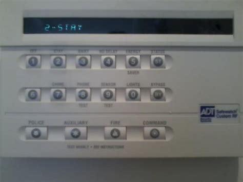 adt safewatch custom rf keypad malfunctioning