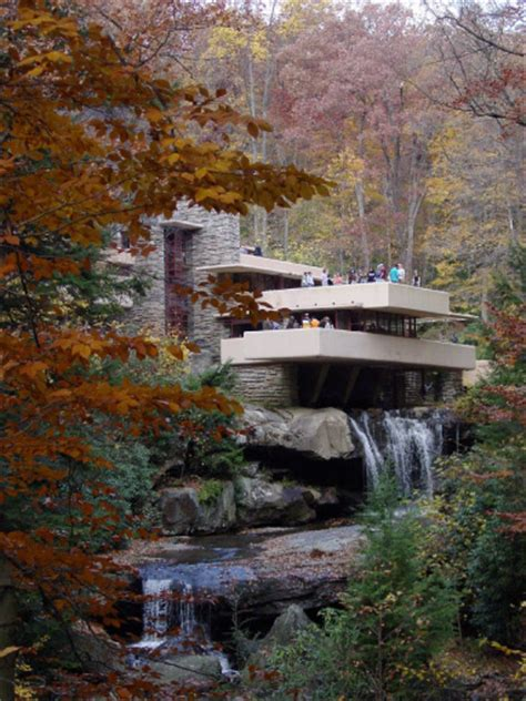 frank lloyd wright waterfall fallingwater pictures famous view from lookout 1 frank