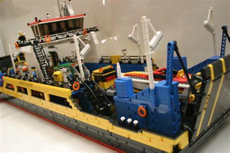 lego ferry boat moc ferryboat staeldiep lego technic mindstorms model
