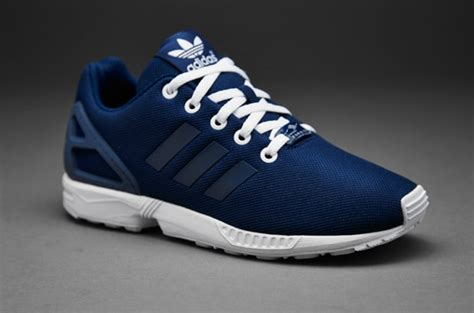 adidas originals kids zx flux boys shoes oxford blue
