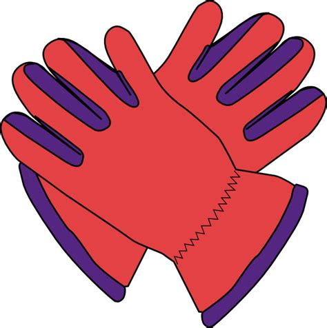 Gloves Clipart gloves clip at clker vector clip royalty free domain