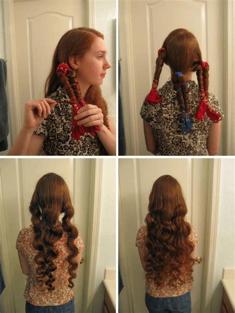 heat curls  easy techniques