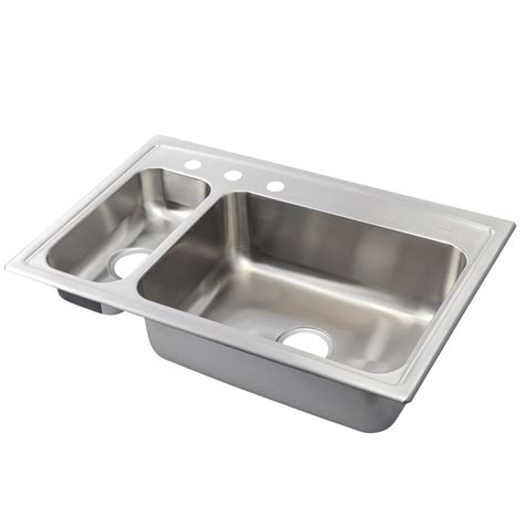 kohler toccata sink reviews kohler toccata drop in stainless steel 33 in 3 hole