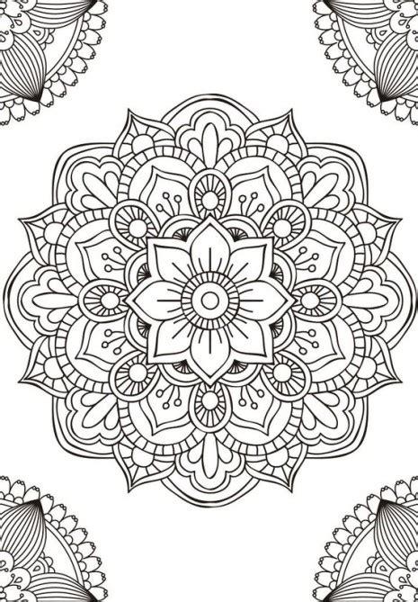 imagenes de mandalas rectangulares las mejores mandalas en blanco y negro para colorear