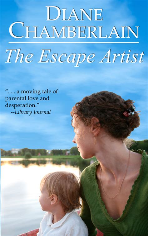 the escape artist books judge a book by its cover diane chamberlain