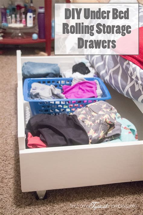 diy under bed drawers diy under bed rolling storage drawers tutorial tips from a typical mom