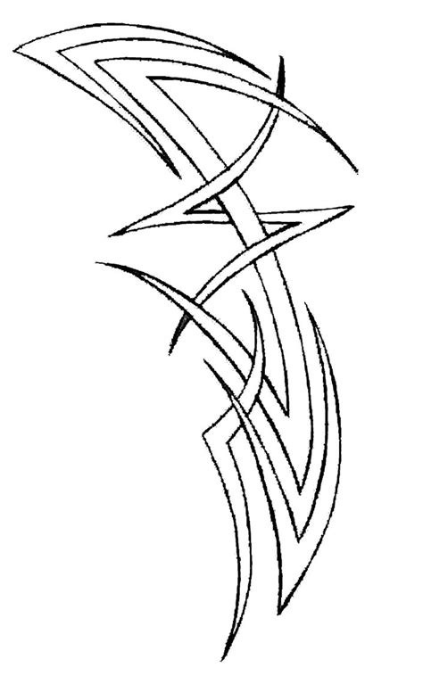 outline tribal tattoo tribal tattoos and designs page 263