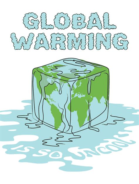 membuat poster global warming global warming is so uncool kristian bjornard dot com