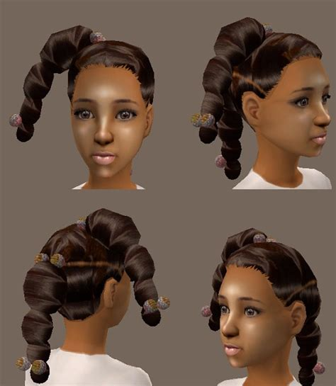 sims 3 african american hairstyles mod the sims realistic ethnic hair girls and babygirls