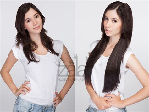 20 hair extensions before and after 20 inch clip in hair extensions before and after indian