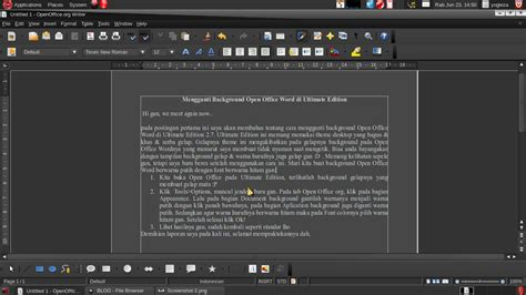 microsoft black themes mengganti background open office word di ultimate edition