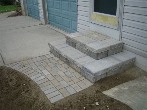 building patio paver stairs 16 best images about patio on patio wire