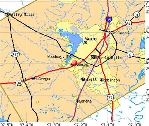 woodway tx 76712 profile population maps real