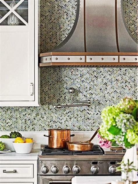 trendy mosaic tile   kitchen backsplash design