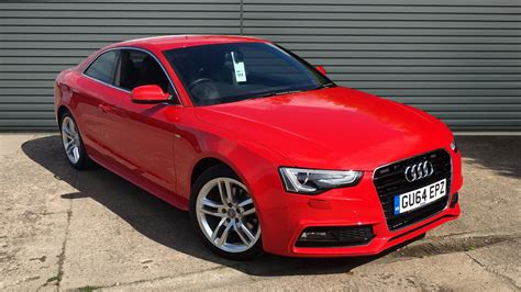 Used Audi A5 Coupe used audi a5 coupe 2 0 tdi s line 2dr 2014 gu64epz