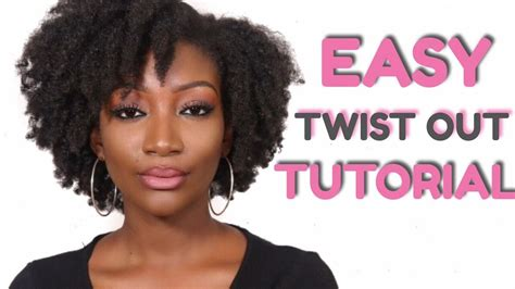 Hairstyles For Hair Twist Out Tutorial by Twist Out Tutorial 4c Hair