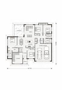 Wide Floor Plans Wide Frontage House Plans House Plans