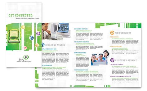 It Services Brochure Template by It Services Brochure Template Isp Service