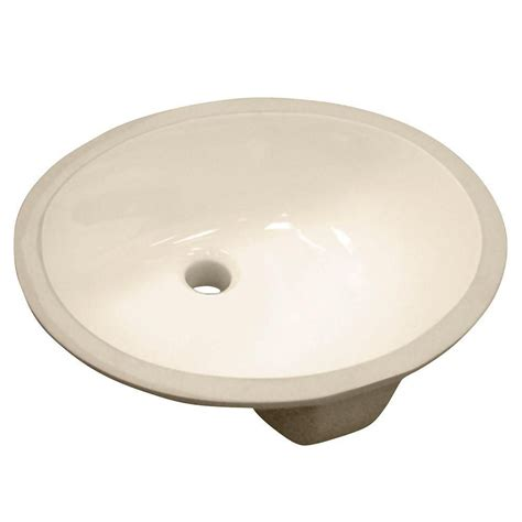 oval undermount bathroom sink foremost international oval undermount vitreous china