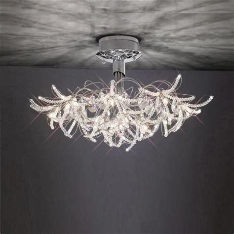 Outdoor Fans With Lights by Kenzo Semi Flush Ceiling Light The Lighting Superstore