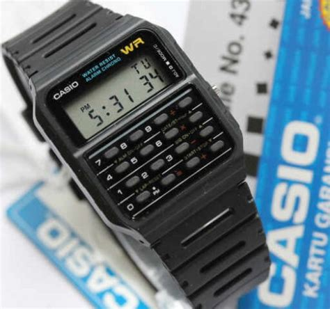 Jam Casio Ca 53w jam tangan casio kalkulator ca 53w original