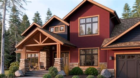 one way to take a drab exterior to the next level is by mixing with your existing siding