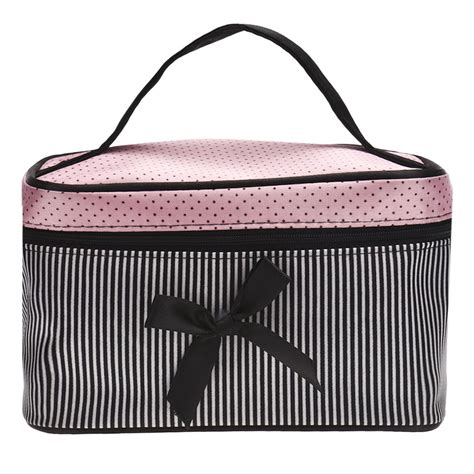Travel Pouch Make Up Pouch Multifungsi Batik 02 cosmetic bag make up bags travel makeup bag square bow striped best gift