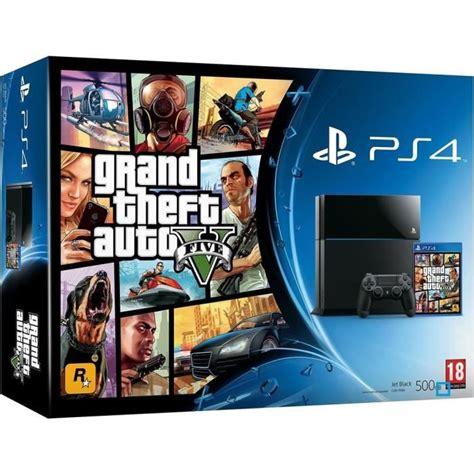 Kaset Ps4 Gta V ps4 500 go gta v achat vente console ps4 ps4 500 go jeu gta v cdiscount