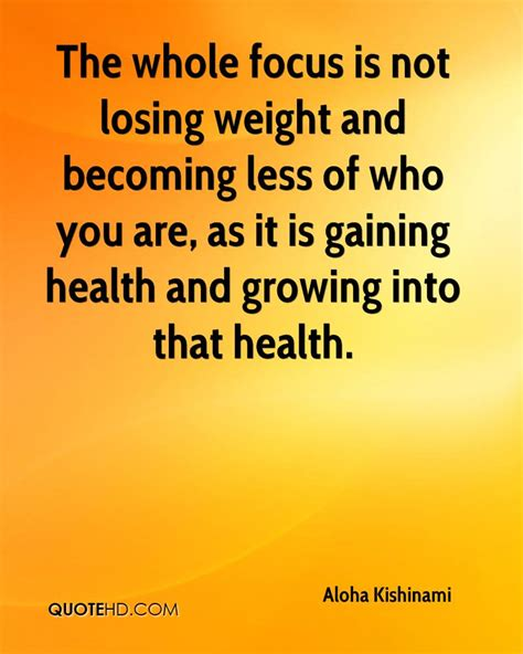 The Weight Is by Quotes About Losing Focus Quotesgram