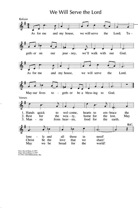 as for me and my house lyrics singing from the lectionary songs hymns music for proper 27a ordinary 32a pentecost 22