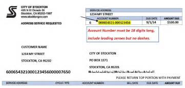 Honda Payment Number Bill Pay Options City Of Stockton Ca