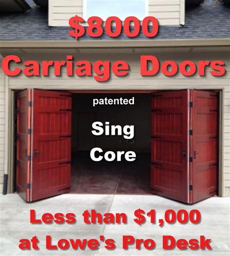 Overhead Door vs New Garage Door   Non warping patented