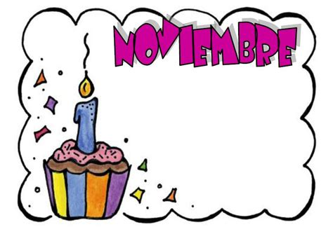 imagenes cumpleaños en noviembre mis cosas de maestra carteles de cumplea 209 os