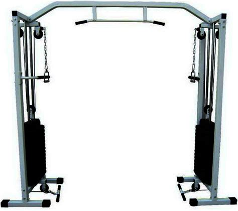 new cable crossover machine w 150kgkg weight chin up bar