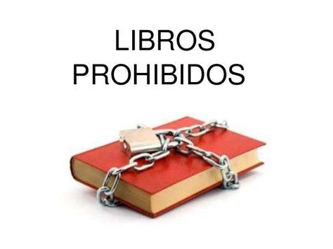 libro el libro prohibido de libros prohibidos