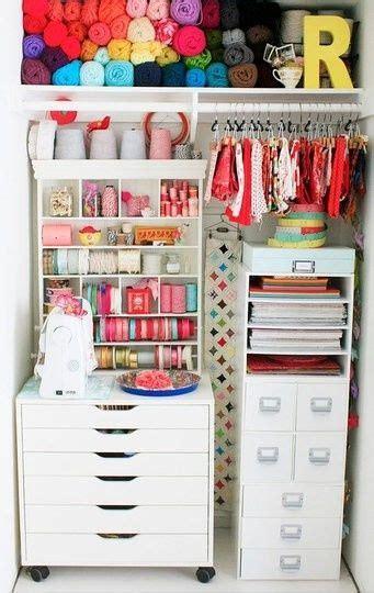 Craft Room Closet by Closet Craft Room Knitting And Crochet