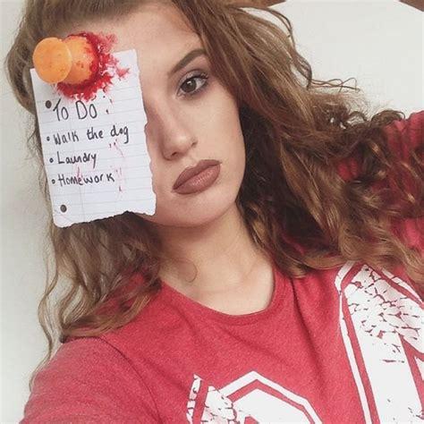 scary halloween makeup ideas popsugar beauty
